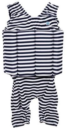 Splash About Children's Short John Floatsuit Navy Stripe 2-4 Years