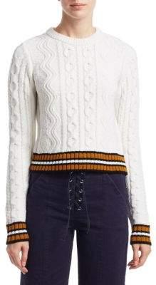 A.L.C. Alpha Cable-knit Sweater