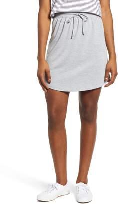 Caslon Drawstring Jersey Skirt