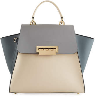 Zac Posen Eartha Iconic Colorblock Top Handle Bag