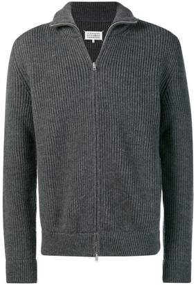 Maison Margiela zipped knit sweater