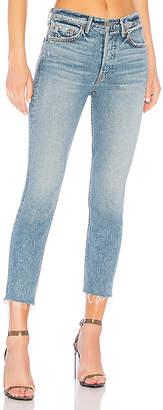GRLFRND Karolina High-Rise Crop Jean.
