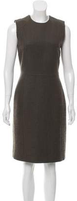 Calvin Klein Collection Wool-Mohair Knee-Length Dress