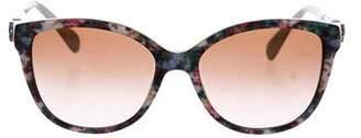 Dolce & Gabbana Floral Gradient Sunglasses