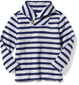 Striped Toggle Pullover for Toddler Boys $19.94 thestylecure.com