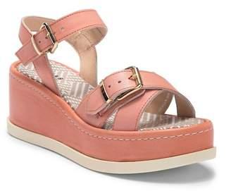 Manas Design Double Buckle Strap Platform Sandal
