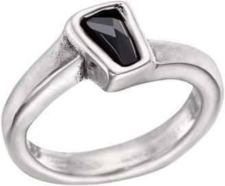 Uno de 50 Silver Plated Bezel Set Swarovski Crystal Glamatic Ring