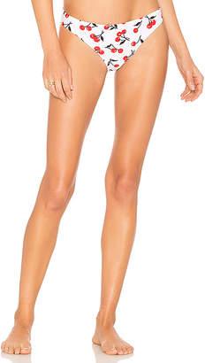 Shoshanna Classic Cherry Bikini Bottom