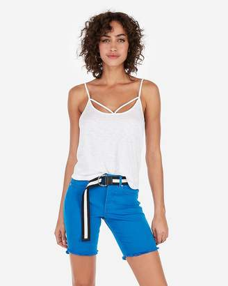 Express One Eleven Strappy Relaxed Abbreviated Cami