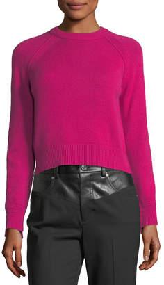 Helmut Lang Crewneck Long-Sleeve Cashmere Sweater