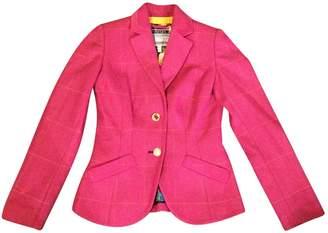 Joules Pink Wool Jacket for Women