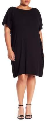 Bobeau Rafferty Solid Knit Dress (Plus Size)