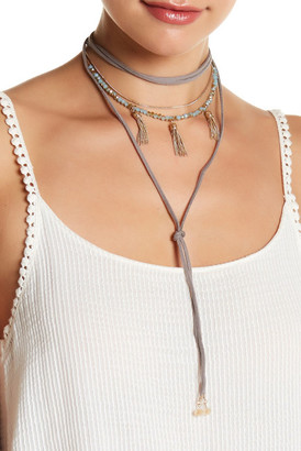 Melrose and Market Tassel Cord Convertible Choker $17.97 thestylecure.com