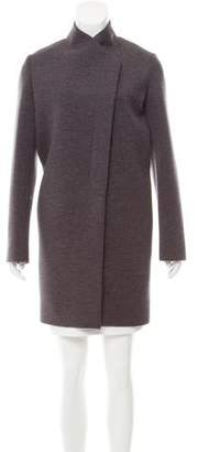 Brunello Cucinelli Knee-Length Wool-Blend Coat w/ Tags