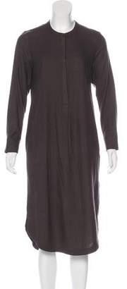Frame Long Sleeve Shirt Dress