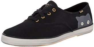 Keds Women's Taylor Swift Sneaky Cat Fashion Sneaker $55 thestylecure.com