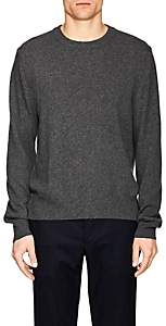 Officine Generale Men's Cashmere-Wool Crewneck Sweater - Gray