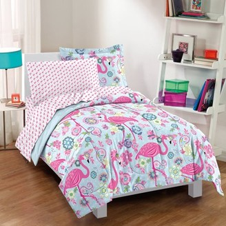 Factory Dream Flamingo Bed In A Bag Comforter Set