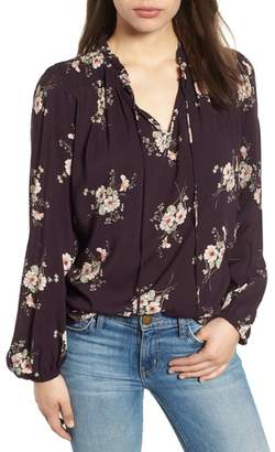 Velvet by Graham & Spencer Printed Challis Blouse