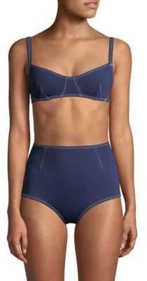 Jonathan Simkhai Darted Bikini Top