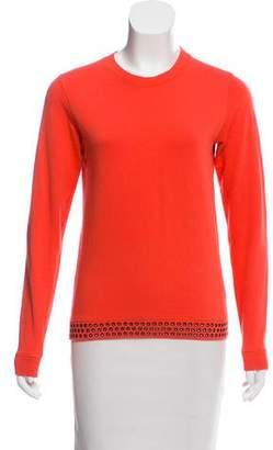 Lucien Pellat-Finet Embellished Skull Sweatshirt