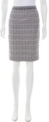 Tory Burch Patterned Knee-Length Skirt