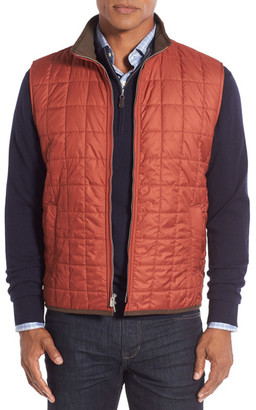 Peter Millar Seneca Water Resistant Quilted Vest $165 thestylecure.com