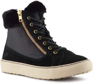 Cougar Dublin High Top Sneaker with Faux Fur Cuff