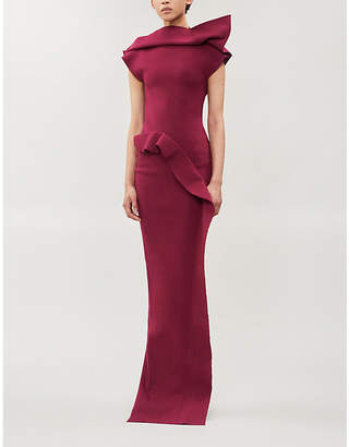 Rick Owens Structured stretch-ponte gown