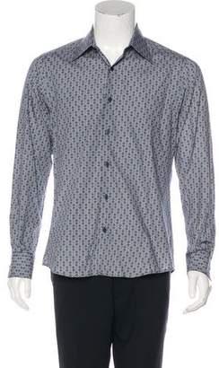 Gucci Abstract Print Dress Shirt