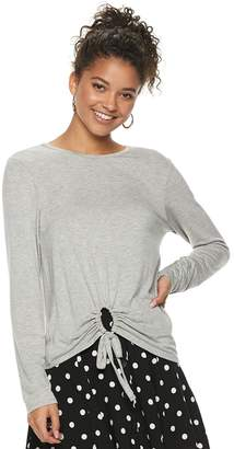 Love, Fire Love Fire Juniors' Cinched Circle Top