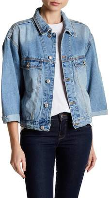 UNIONBAY Front Button Denim Jacket
