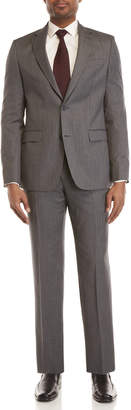 Versace Two-Piece Grey Wool Suit