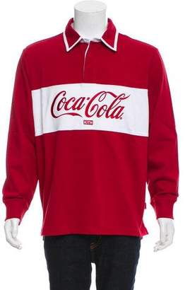 KITH x Coca-Cola 2018 Classic Rugby Polo Shirt w/ Tags