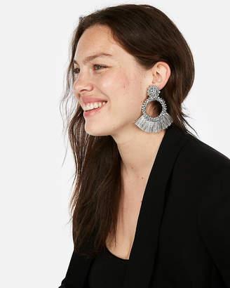 Express Wrapped Tassel Earrings