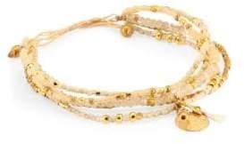 Chan Luu Cream Mix Adjustable Bracelet