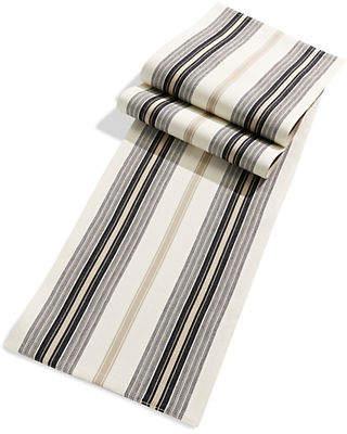 DISTINCTLY HOME Cabin Stripe Table Runner