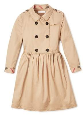 Burberry Girls' Trench Dress - Little Kid, Big Kid