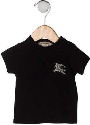 Burberry Boys' Logo T-Shirt $45 thestylecure.com