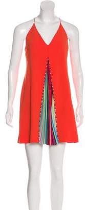 Mary Katrantzou Rainbow Pleated Dress