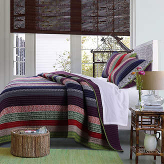 Greenland HOME FASHIONS Home Fashions Marley Bohemian Striped Quilt Set