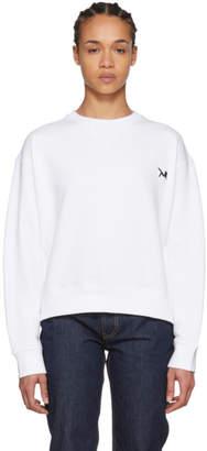Calvin Klein White Brooke Sweatshirt