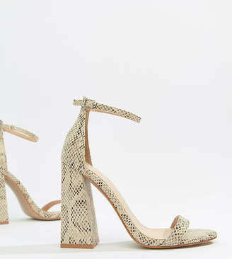 67090326ad1 Public Desire Block Heel Sandals For Women - ShopStyle UK