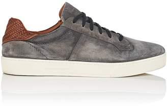 Ermenegildo Zegna Men's BNY Sole Series: Vulcanizzato Burnished Suede Sneakers