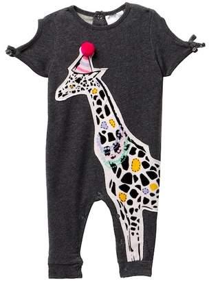 Rosie Pope Giraffe Romper (Baby Girls 0-12MO)