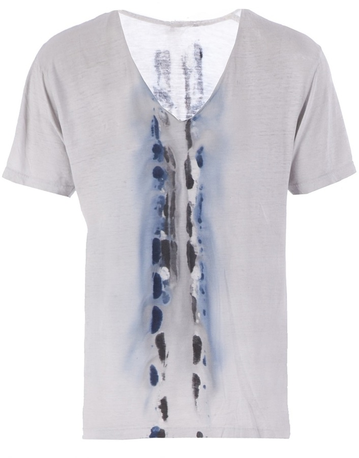 Glenn Amy blotchy print t-shirt