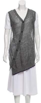 Dries Van Noten Sleeveless Button-Up Cardigan