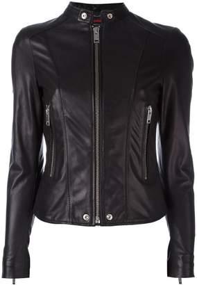 Diesel banded collar jacket