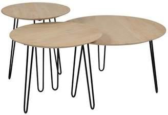 Union Rustic Northwick 3 Piece Coffee Table Set