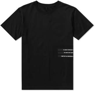 Unravel Project Bars Logo Tee